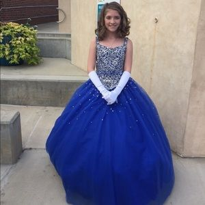 Beautiful Royal Ball Gown